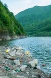 Problem związany z ochroną środowiska i natury zanieczyszczenie Zdjęcia Royalty Free