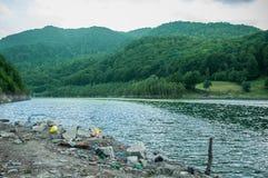Problem związany z ochroną środowiska i natury zanieczyszczenie Obraz Royalty Free