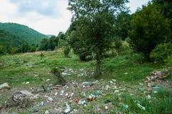Problem związany z ochroną środowiska i natury zanieczyszczenie Zdjęcie Stock
