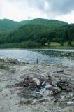 Problem związany z ochroną środowiska i natury zanieczyszczenie Fotografia Stock