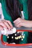 Problema adolescente de la drogadicción Imagenes de archivo