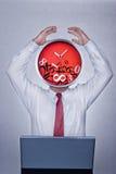 Problema con tempo Immagine Stock