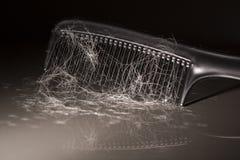 Problema de la pérdida de pelo fotos de archivo