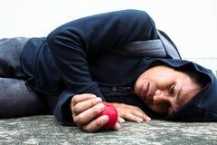 Problema de la pobreza Fotos de archivo