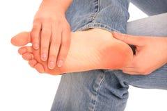 Problema del piede Fotografia Stock