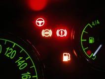 Problema do combustível imagem de stock