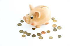 Problema do dinheiro Imagens de Stock Royalty Free