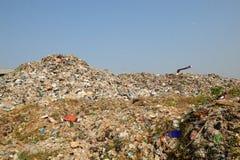Problema do montão de lixo da poluição Fotos de Stock Royalty Free