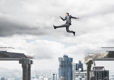 Problema e difficoltà che sormontano concetto Immagine Stock