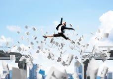 Problema e dificuldades que superam o conceito Imagem de Stock Royalty Free