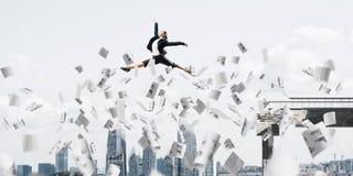Problema e dificuldades que superam o conceito Foto de Stock