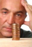 Problema finanziario Fotografia Stock Libera da Diritti