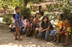 PROBLEMA INDONESIANO DEI BAMBINI Fotografia Stock