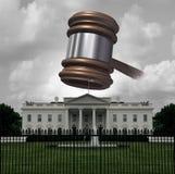 Problema legal de la Casa Blanca libre illustration