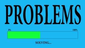 Problemas ilustración del vector