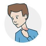 Problemas com orelhas Imagens de Stock