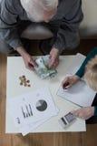 Problemas con el dinero fotos de archivo libres de regalías