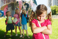 Problemas da infância fotos de stock