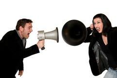 Problemas de comunicação Imagem de Stock Royalty Free