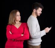 Problemas de comunicação Fotografia de Stock
