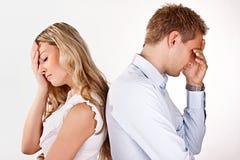 Problemas de la relación Imagen de archivo libre de regalías