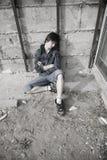 Problemas de las adolescencias Foto de archivo