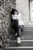 Problemas de las adolescencias. Imagen de archivo libre de regalías