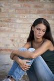 Problemas de los adolescentes Foto de archivo