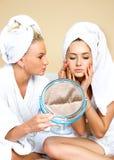 Problemas de pele Imagens de Stock Royalty Free