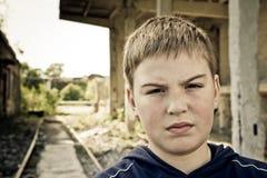 Problemas del adolescente Foto de archivo