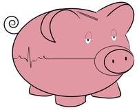 Problemas del dinero ilustración del vector