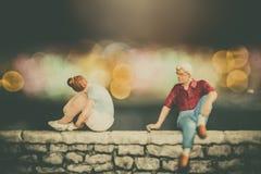 Problemas do amor - edições do relacionamento Imagem de Stock Royalty Free