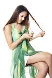 Problemas do cabelo Foto de Stock