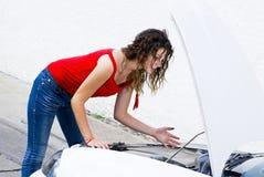 Problemas do carro Foto de Stock