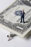 Problemas do dinheiro Imagens de Stock Royalty Free