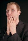 Problemas do homem de negócios Fotos de Stock Royalty Free