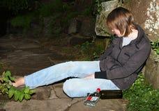 Problemas do álcool Fotos de Stock Royalty Free