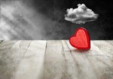 Problemas do relacionamento do divórcio do amor Foto de Stock Royalty Free