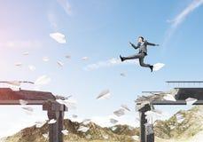 Problemas e dificuldades que superam o conceito Imagem de Stock Royalty Free