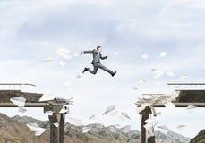 Problemas e dificuldades que superam o conceito Imagens de Stock Royalty Free