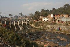 Problemas ecológicos em Nepal imagem de stock