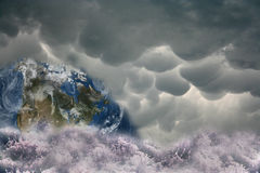 Problemas globais Imagem de Stock Royalty Free