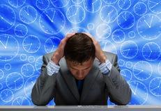 Problemas no negócio Imagem de Stock