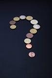 Problemas serios del dinero Fotografía de archivo