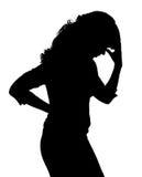 Probleme der Frauen Stockfoto