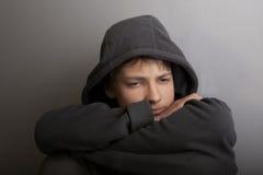 Probleme der Jugendlicher Stockbild