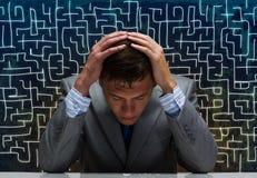 Probleme im Geschäft Lizenzfreie Stockfotos
