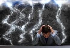 Probleme im Geschäft Lizenzfreie Stockbilder