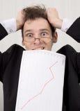 Probleme mit der Finanzierung Lizenzfreie Stockbilder
