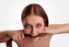 Problemi con capelli Fotografie Stock